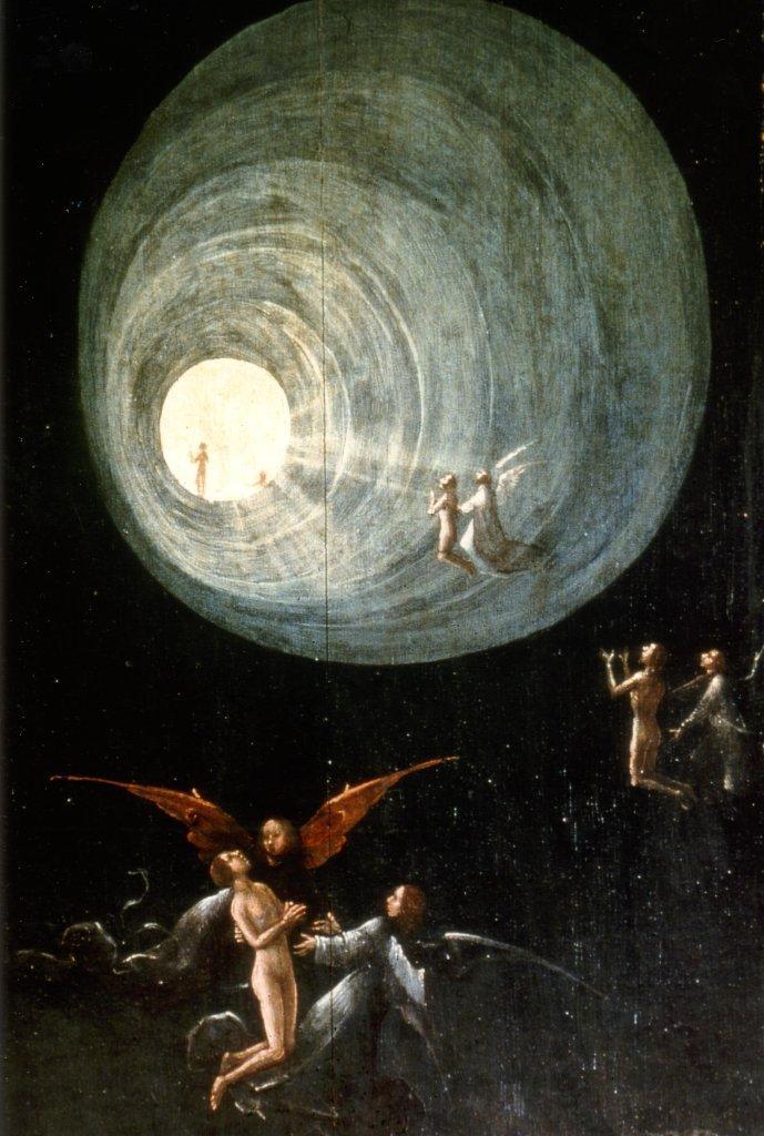 Ascesa all'Empireo, (1500-1504) Dipinto di Hieronymus Bosch