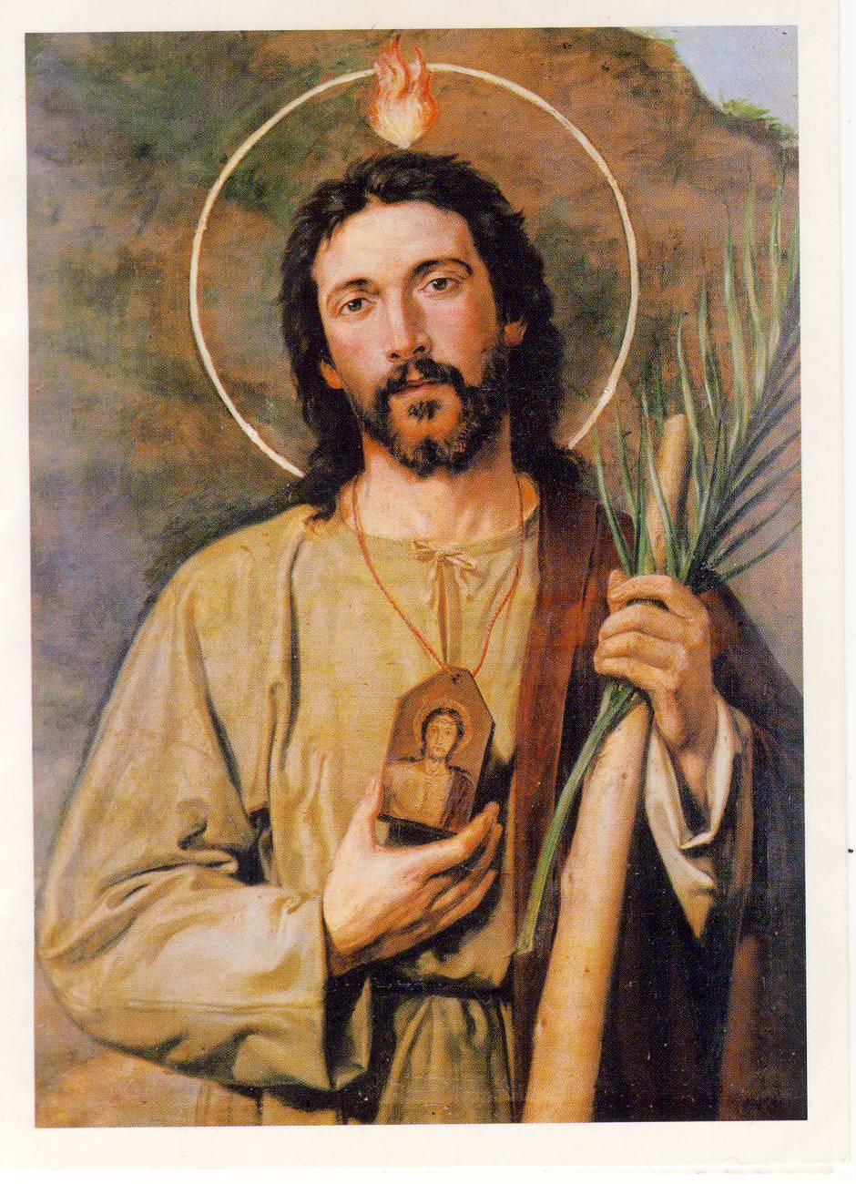 Immagine di San Giuda Taddeo nella Chiesa di San Salvatore in lauro, Roma