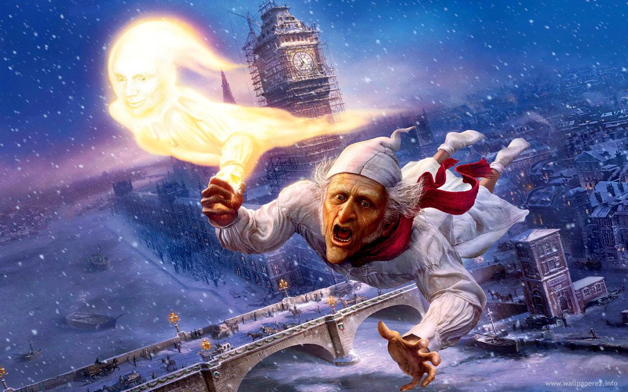 A Christmas Carol, Fantasma del Natale passato
